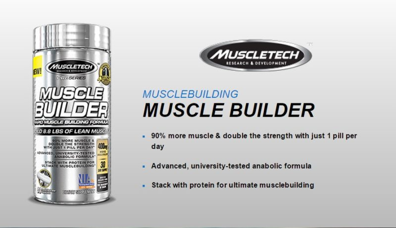 Image result for MUSCLETECH Muscle Builder ( 90 Caps )